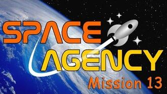 Space Agency Mission 13 Gold