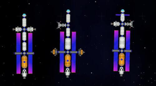 Space-crawler-trio