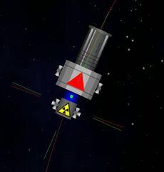 Explosive Module Docked Spy Station - Angkasa-X