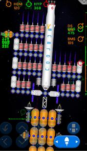 Ion drive ship