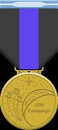 JOR Campaign medal