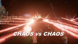 Chaos vs Chaos! Khorne Fleet, Rank 115, Heroic Difficulty, 1500 Points - Battlefleet Gothic Armada