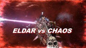 Eldar vs Chaos! Rank 81, Heroic Difficulty, 1500 Points Mod - Battlefleet Gothic Armada