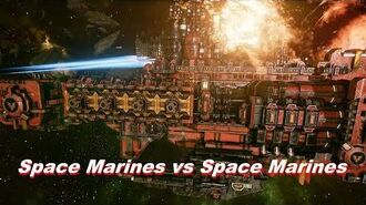 Space Marines vs Space Marines! Rank 126, Heroic Difficulty, 1500 Points - Battlefleet Gothic Armada