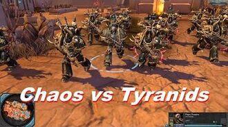 Chaos Space Marines vs Tyranids - Warhammer 40k Dawn Of War 2 Retribution - SupaEpicFun Mod