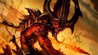 Chaos Daemons of Khorne vs Space Marines vs Dark Eldar vs Orks! - Ultimate Apocalypse Mod