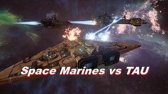 Space Marines vs TAU! Rank 125, Heroic Difficulty, 1500 Points - Battlefleet Gothic Armada