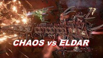 Chaos vs Eldar! Rank 114, Heroic Difficulty, 1500 Points - Battlefleet Gothic Armada