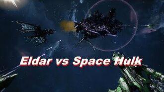 Eldar vs Space Hulk! Rank 90, Heroic Difficulty, 1500 Points - Battlefleet Gothic Armada