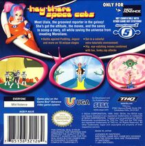 Space Channel 5 Ulala's Cosmic Attack Box Art Back