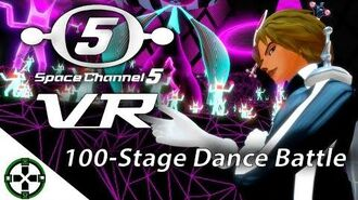 -PSVR Pro- 100-Stage Dance Battle!!! - Space Channel 5 VR