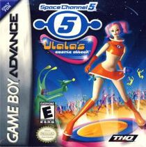 Space Channel 5 Ulala's Comic Attack Box Art Front
