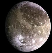 Ganymede, moon of Jupiter, NASA