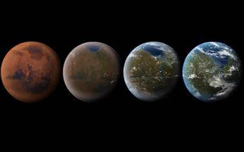 Mars terraforming