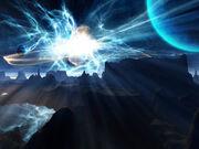 Space super nova