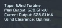 Wind Turbine Output