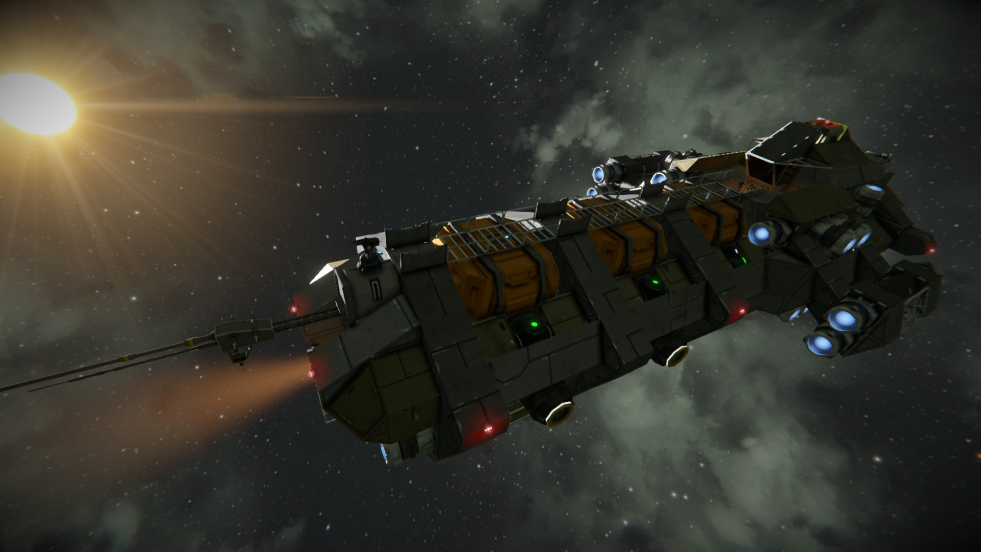 R U S T  Freighter | Space Engineers Wiki | FANDOM powered