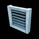 Icon Block Vertical Window