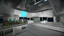 Specialised Drilling Consortium outpost interior