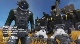 Space Engineers - Update 01.109 Intuitive planetary building, Bugfixes
