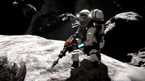 Space Engineers- Getting Started - Drilling, Refining, & Assembling Survival