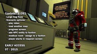 Space Engineers - Update 01.091- Bugfixing, New scenario editor options