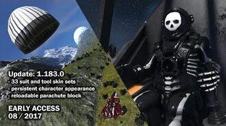 Space Engineers - Update 1.183.0 - Skins, Parachutes & Player Feedback-0