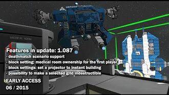 Space Engineers - Update 01.087- Deathmatch scenario support