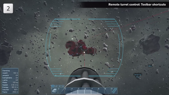 Gatling Turret reticle