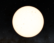 this largest star is like sun!