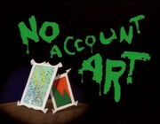 Space Goofs - No Account Art - Title Card
