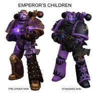Preorder comparison emperor's children