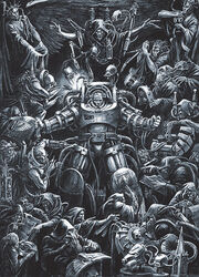Space marine terminator procedure