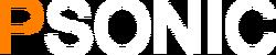 Psonic alt logo inverted