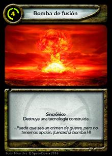 Bomba de fusion A