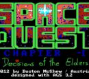 Space Quest Minus 1: Decisions of the Elders