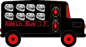 TG station tweat;admin bus (ROFL)