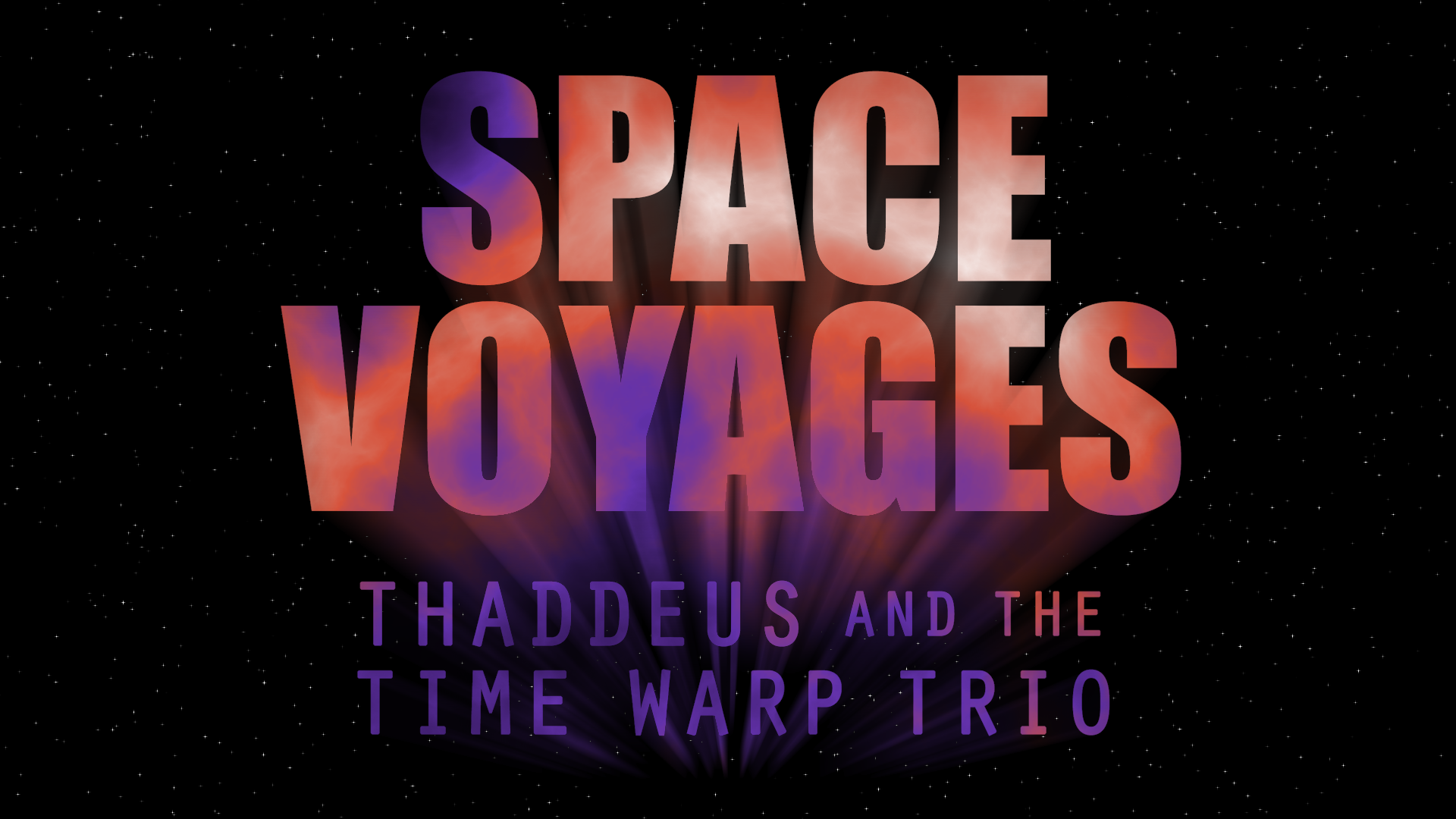 space voyages thaddeus and the time warp trio youtube series
