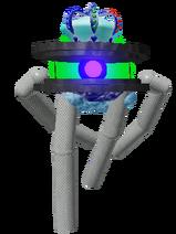 Alien King pose