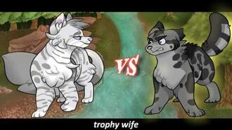 Silverstream VS Millie. Epic Rap Battles of Warriors 8