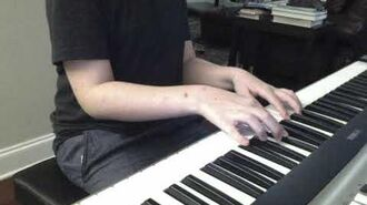 "Me Playing ""Pursuit ~ Cornered"" On The Piano"