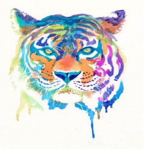 File:Tiger watercolor.png
