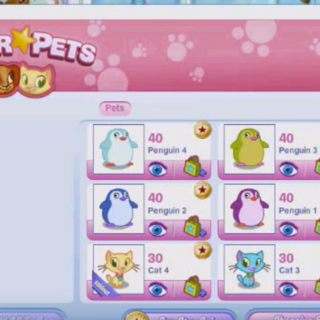 How buying a pet in OLD AGA looked like. Picture credit: Fntage on YouTube