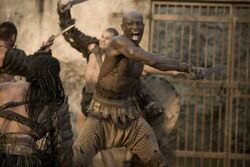 Oenomaus as a Gladiator