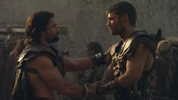 Spartacus und Crixus