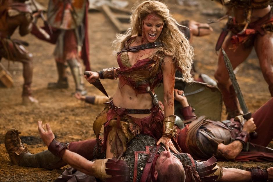 Image - Saxa | Spartacus Wiki | FANDOM powered by Wikia