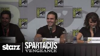 Spartacus Vengeance - San Diego Comic-Con 2011 Panel STARZ