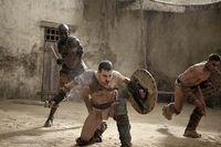 Shadow Games - Oenomaus, Spartacus, Crixus