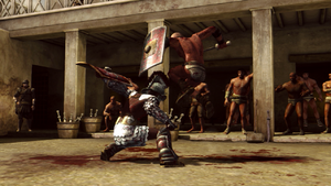 Spartacus Legends Ludus fight