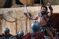 Spartacus-War-of-the-Damned-Blood-Brothers-Review-Manu-Bennett-as-Crixus